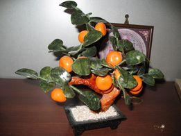 ФЕН-ШУЙ мандариновое дерево серпентин змеевик минералы натуральные