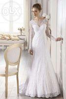 Piekna suknia ślubna Sposabella 1381 rozmiar 38/40 z salonu Madonna