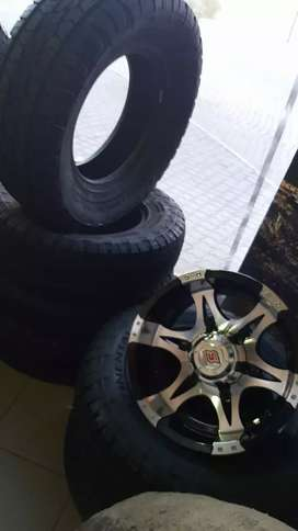 Tyres rims mags made for all vehicles