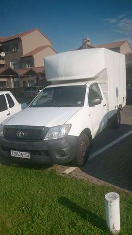Toyota Hilux D4D S/C with Space Saver Canopy