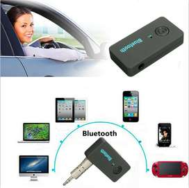 AD20-BT Car Bluetooth Music Receiver - Black