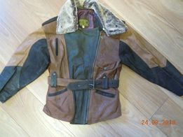 куртка кожаная - женская