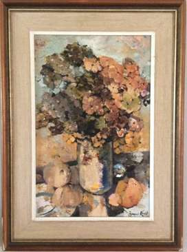 Flowers - Painted by Francois Koch