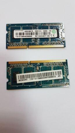 оперативная память для ноутбука so-dimm ddr3 1Gb 1066 МГц 1шт