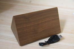 Электронные настольные часы под дерево 868-4 (подсветка: зеленая )