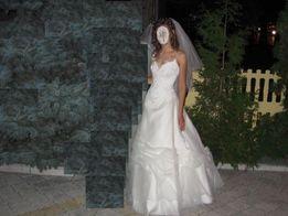 весільна сукня, шампань