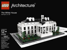 LEGO ARCHITECTURE - Biały Dom - kompletny !!