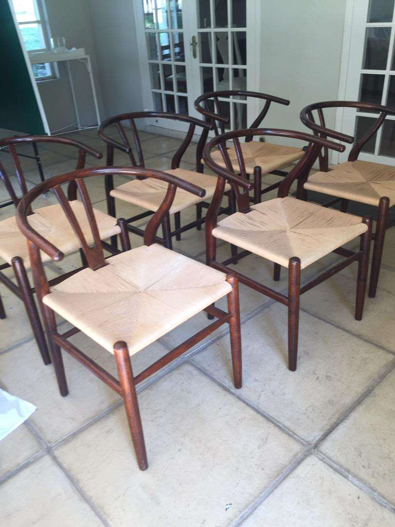 Set 6 bentwood chairs 0