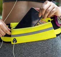 Спортивная сумка на пояс для бега поясная сумка для телефона бананка