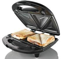 Новая бутербродница/ сендвичница / тостер гриль Domotec 800 Вт, мощная