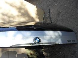 Капот БМВ Е53 кришка багажника BMW ляда titan silber-metallic