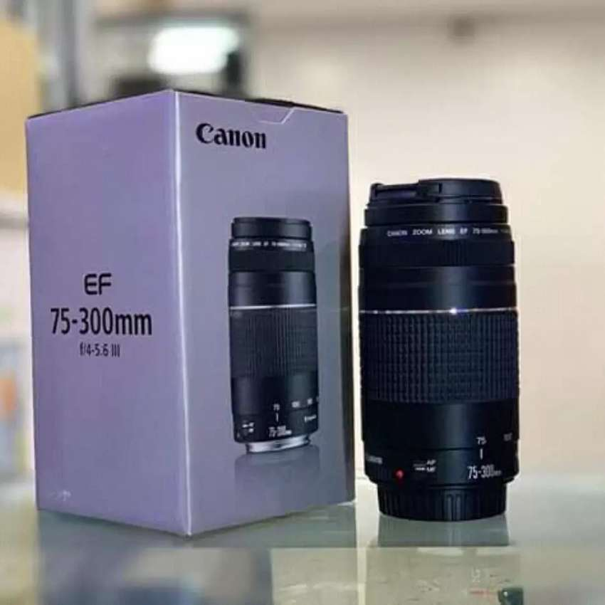 Canon EF 75-300mm f4 5.6 III USM  Zoom Lens for Canon SLR Cameras 0