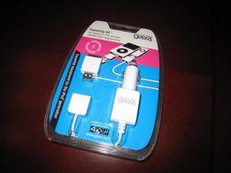 Автомобильное зарядное устройство для iPod и US