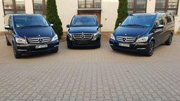 Wynajem Bus Mercedes Viano 8 osób Warszawa busów przewóz osób VIP
