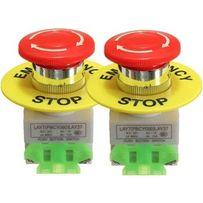 Кнопка стоп(STOP) ЧПУ аварійний виключатель грибок