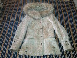 Шуба натуральная, дубленка, куртка зимняя, кожа, мех.