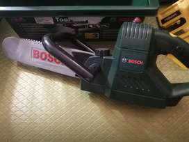 Kids Bosch chainsaw, toolbox and square