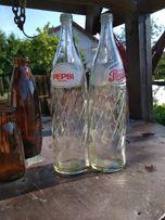 Butelka z czasów PRL Pepsi 1l.