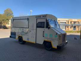 Food truck in excellent condition (incl equipment)
