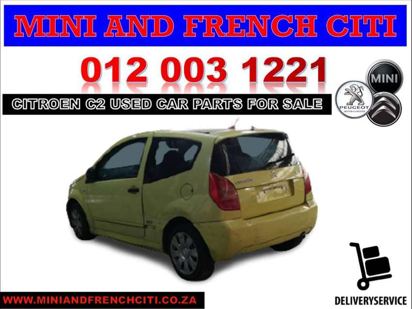 Citroen C2 stripping for used car spares and parts 0