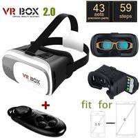 Шлем 3D + ПУЛЬТ! Очки Виртуальной реальности VR BOX 2.0 V2 ВР 3Д