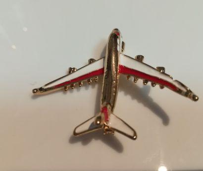 подарок мужчине самолет брошь брошка модель авиалайнера новый значок Днепр - изображение 2