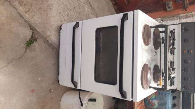 Stoves x 2, front loader and gym shaker