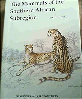 The Mammals of the Southern African subregion Hardcover