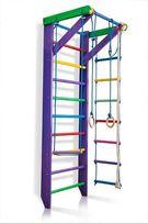 Drabinka gimnastyczna dla dzieci z drewna w kolorze KARUZELKA-2