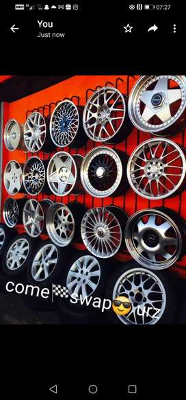 Wheels with tyres2go@any trailer