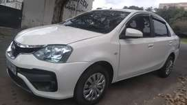 Toyota Etios available in excellent condition.