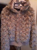Новая меховая женская куртка