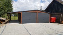 garaz blaszany drewnopodobne