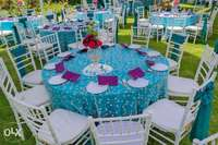 Event Decorations and hiring tents,seats,tables,lighting 0