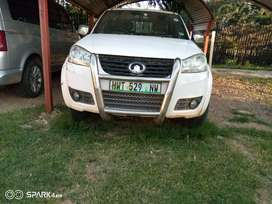 GWM Steed,5, 2.0 VGT 2012 model twin can with canopy.