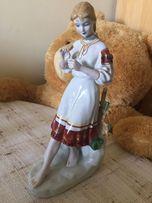 Porcelanowa rosyjska figura