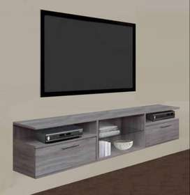 Floating plasma stand to fit up to a 65 inch TV, visit our showroom.