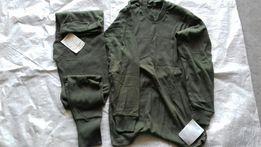 Koszulka i kalesony wojskowe zielone bawełniane wz 519 i 547 nowe