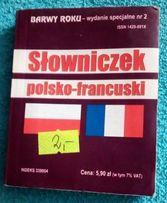 J. francuski Słowniczek polsko-francuski