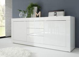 Biała komoda włoska AMBROZJA 210/43/86 cm