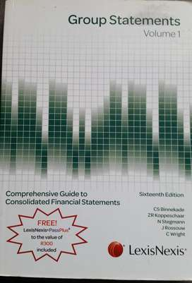 Group Statements volume 1 & 2 16th ed.