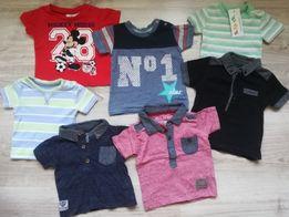 T-shirt/koszulki next, 5 10 15, early days 3-6(62-68)