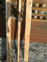 sztachety drewniane JODŁA ŚWIERK / ogrodzenie szer.10 cm