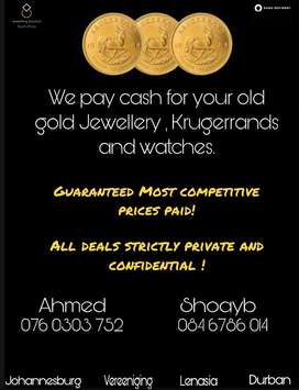 Gold Jewellery WANTED