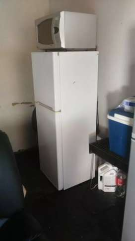 Fridge kic and microwave