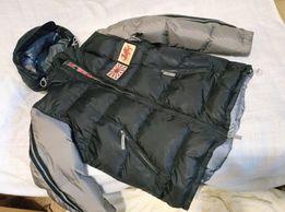 """Мужская куртка- пуховик """"KEJO"""" (оригинал). вес-900грамм."""