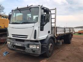 Iveco 8 Ton with heavy load dropsides