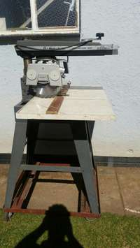 Image of Mitre machine + attachment