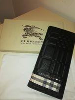BURBERRY super elegancki portfel