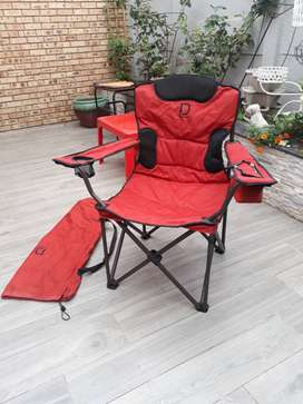 Due South Escape Cooler Folding Camping Chairr